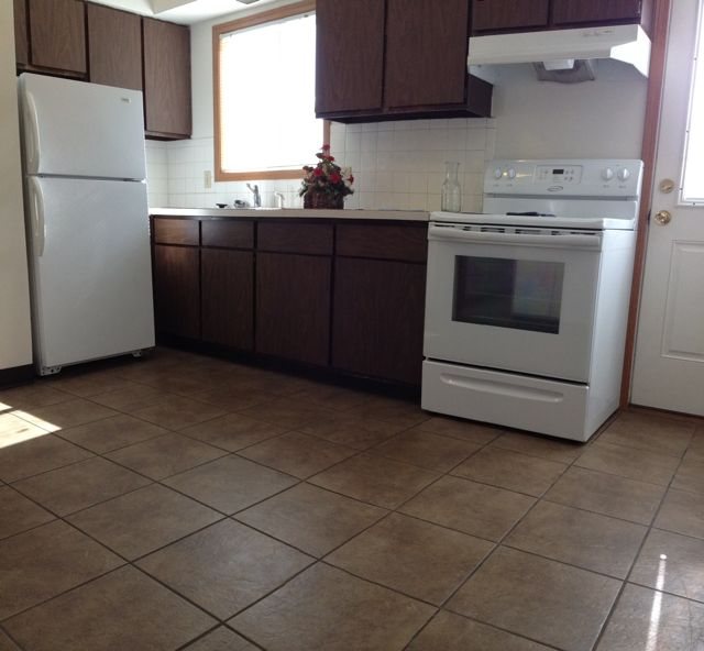2 bedroom apartment, new carpet, fresh paint, appliances included - 24 hour laundromat on site