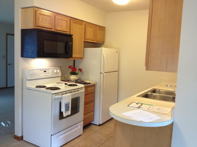 apartment Barberton 2 bedrooms, laundry hookup
