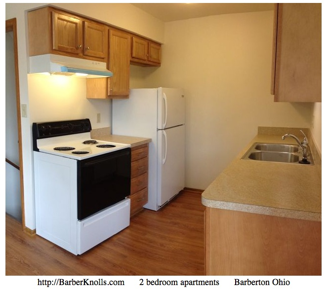 apartment Barberton appliances included Barber Knolls apartments in Barberton Ohio