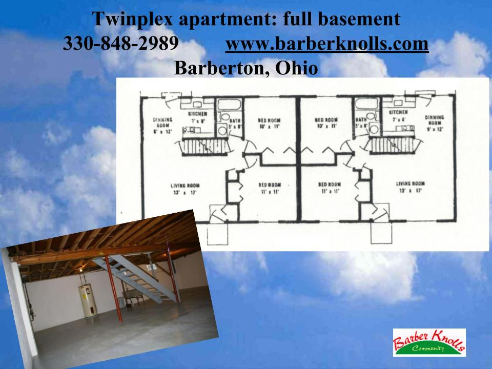 one floor apartment no steps Barberton Ohio